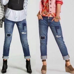 CAbi Slim Boyfriend Jeans Style Size 0